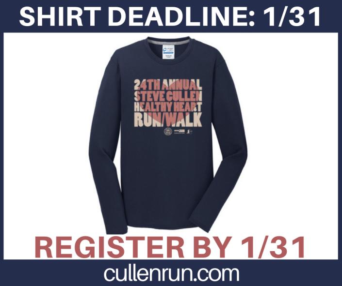 2020 Shirt deadline 2